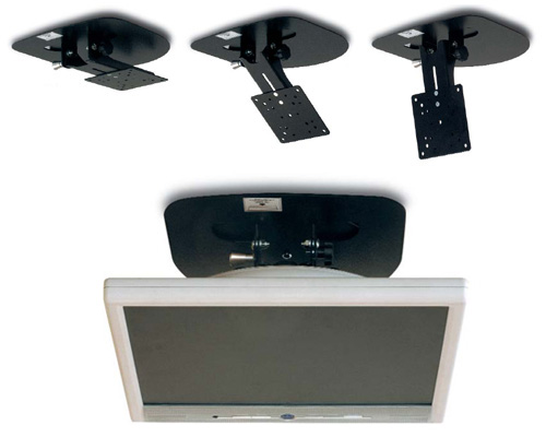 Porta tv a soffitto sidercamp accessori per camper - Portapentole da soffitto ...